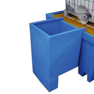 Drum & IBC Dispenser - Base & Shelf Cradle